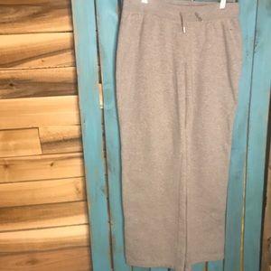 Nike gray sweat pants cotton polyester blend M